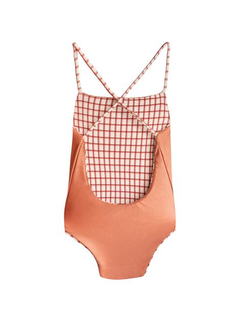 KIDS clō stories Clara reversible swimsuit - checks