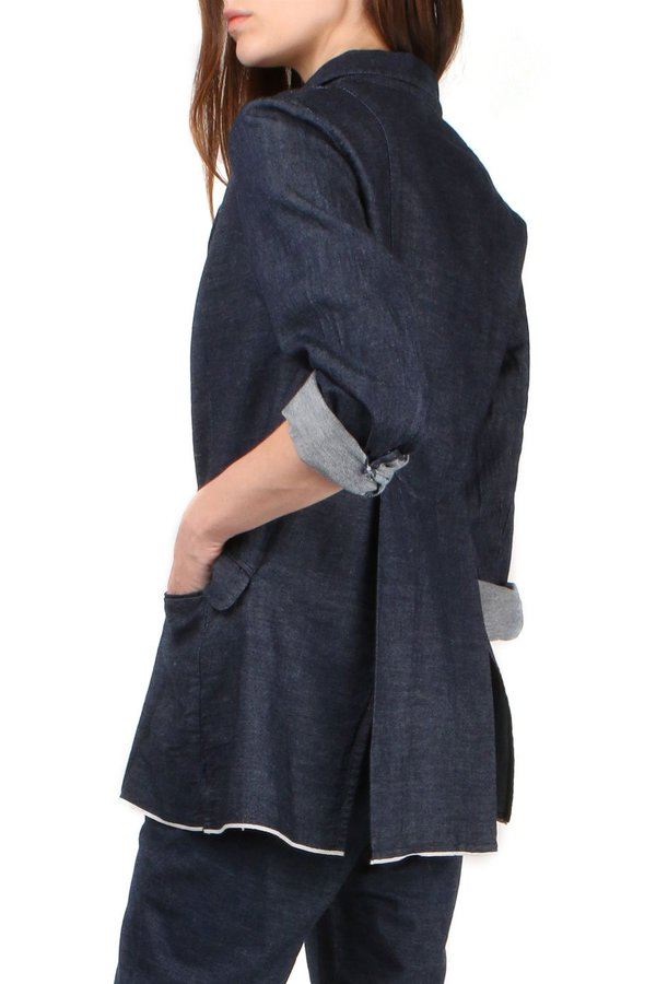 Sibel Saral Bond Summer Jacket - Denim