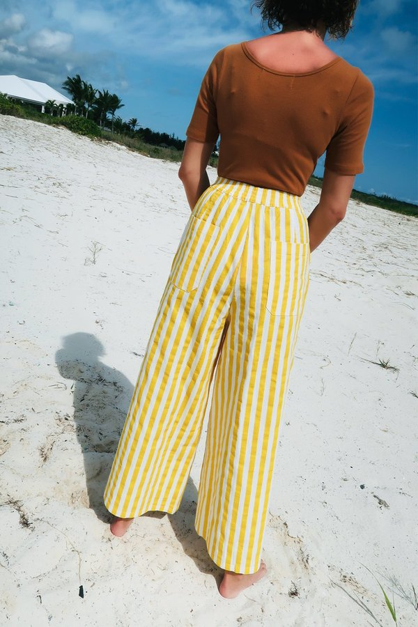 L.F. Markey Billy Trouser - Sunflower