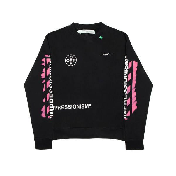 63768c9d Off-White Diag Stencil Sweatshirt | Garmentory