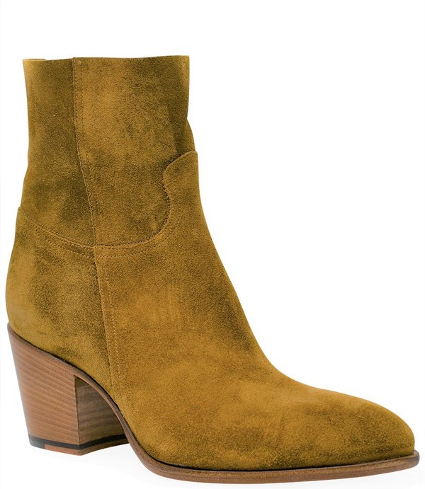 Rocco P Leather Ankle Boot - Senape
