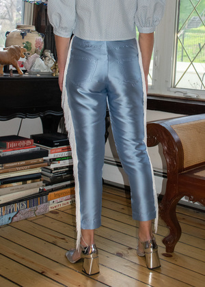 Suzanne Rae Trousers With Fringe