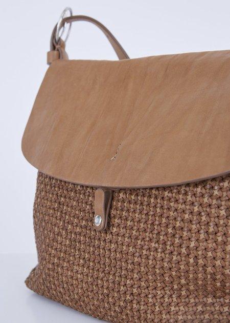 Massimo Palomba Dalia Woven Bag - Tobacco