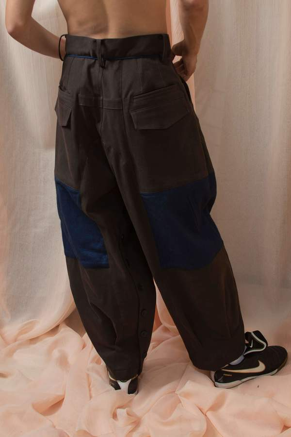 L'equip M86 Trouser - Chocolate Brown Twill