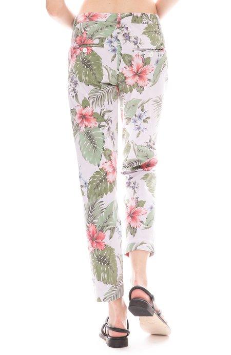 MASONS Trouser Pants - Floral Hibiscus