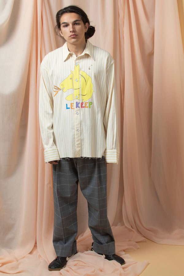 l'equip LE KEEP QUINCY - STRIPED YELLOW/WHITE