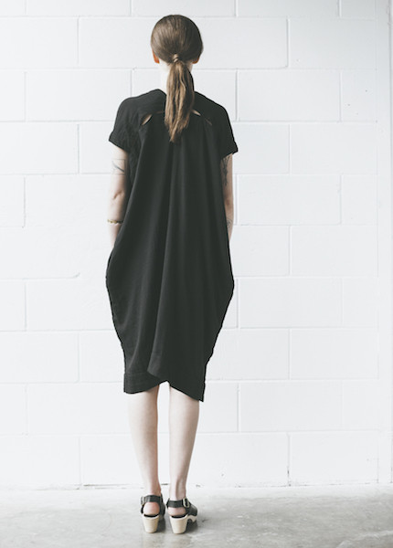 Atelier Delphine Crescent Dress in Black