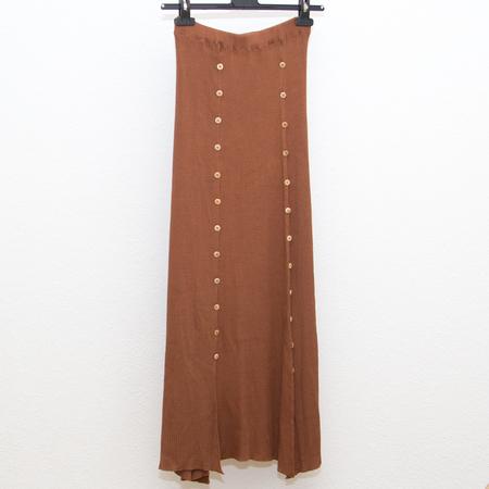 Baserange Loulou Skirt - Tove Brown