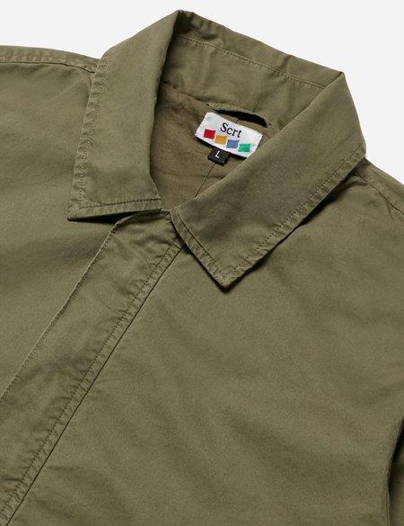 SCRT Mac Jacket - Olive Green