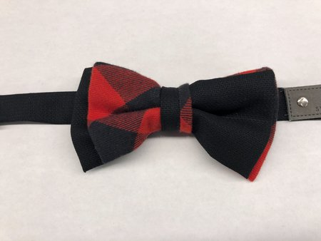 Cswell Fellow Duo Chasse Bow Tie - Red