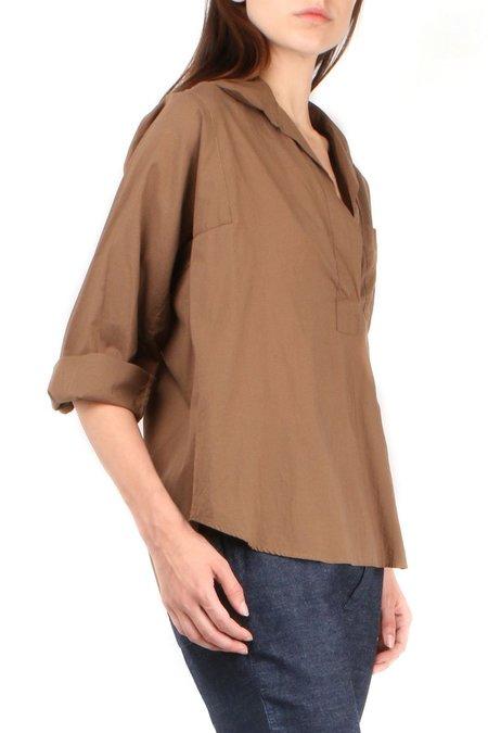 Sibel Saral Venice Shirt - Coffee