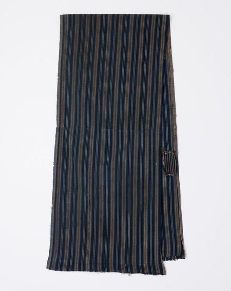 Vintage Scarf - Indigo Stripe