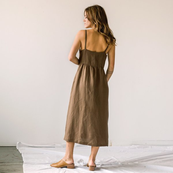 First Rite Pleated Dress