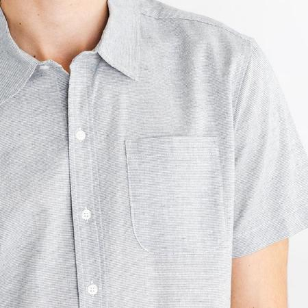 Bridge & Burn Harbor Shirt - Light Blue Stripe