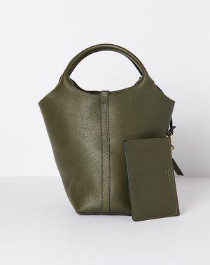 Lotuff The One Piece Handbag - Olive