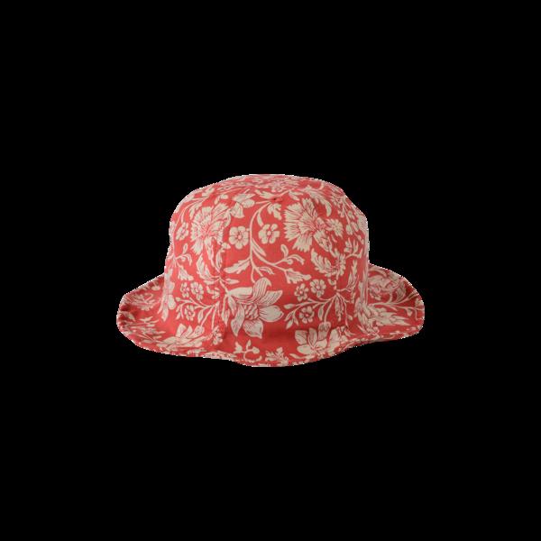kids East End Highlanders Tulip Bucket Hat - Red Floral