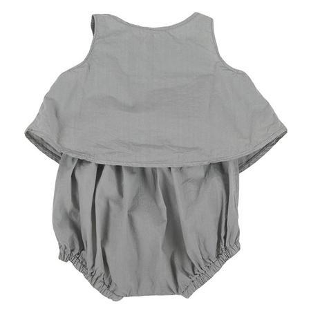 KIDS Album di Famiglia Elisa Outfit - Khaki Grey