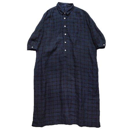 Makié Jen Dress - Indigo Blue Plaid