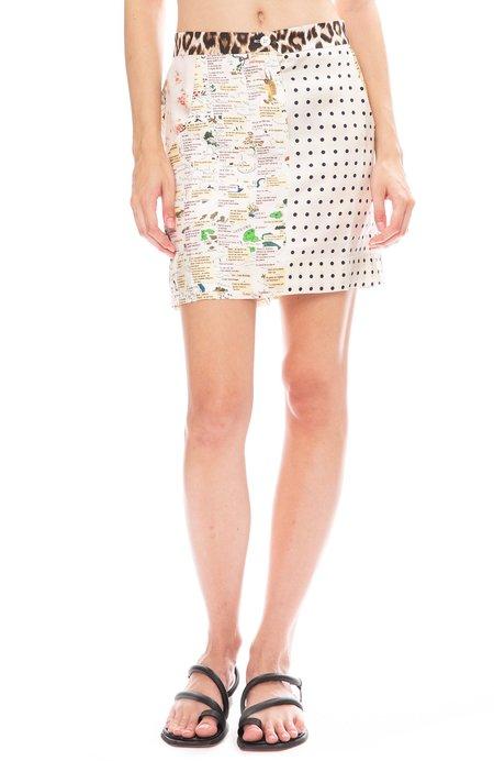 La Prestic Ouiston Mini Saint Tropez Skirt - Panthere