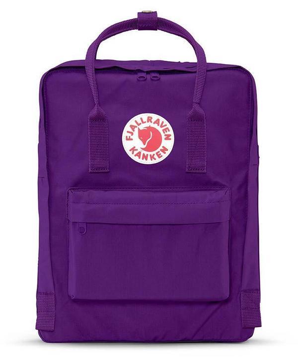 Kids Fjallraven Kanken Bag - Purple