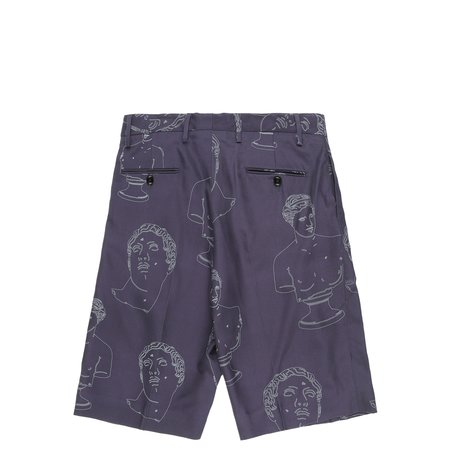 Band of Outsiders Single Pleat Shorts - NAVY