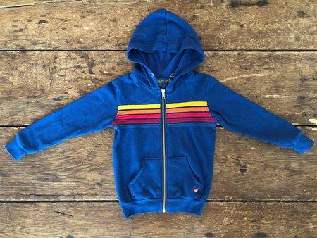 KIDS Aviator Nation 5-Stripe Hoodie - Royal Blue