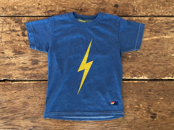 KIDS Aviator Nation Bolt Tee - Royal Blue