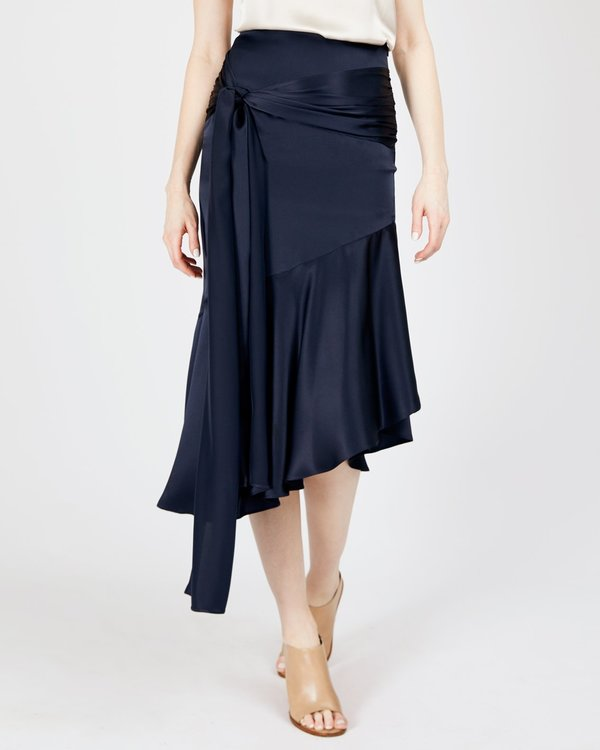 INGA-LENA The Aleka Skirt - Midnight Blue