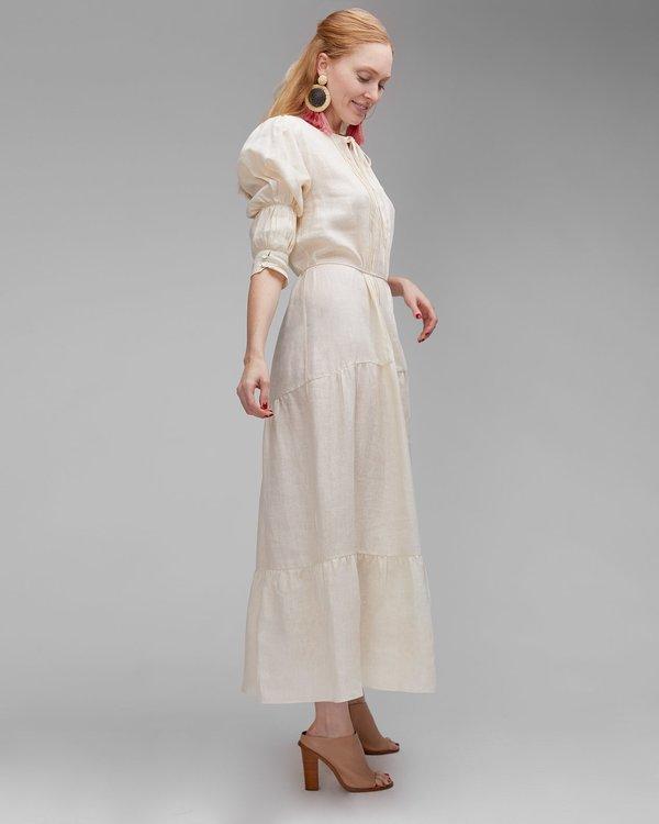 INGA-LENA The Amal Dress - Cream Linen