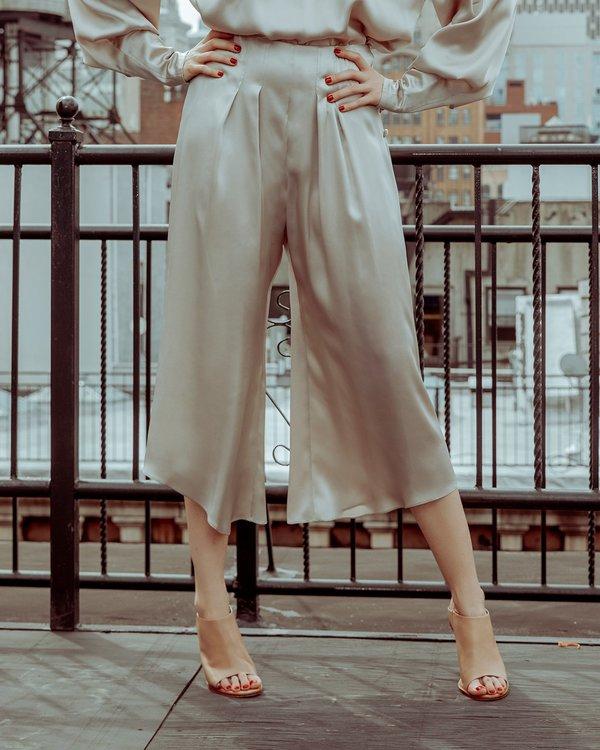 INGA-LENA The Janie Pant - Shimmery Sand