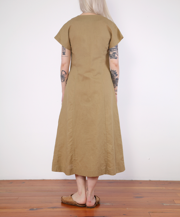 Micaela Greg Knotted Dress - MOSS