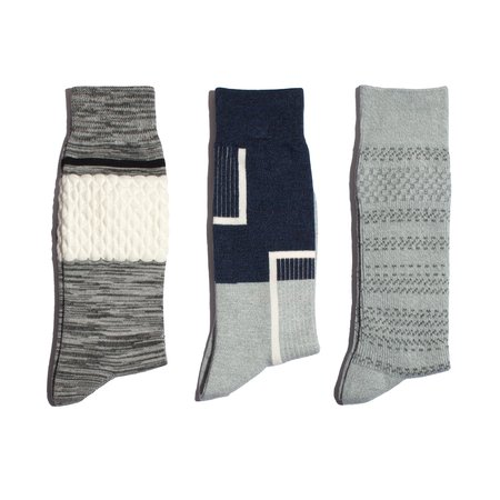 N/A 3 Pack Wear With Anything Socks