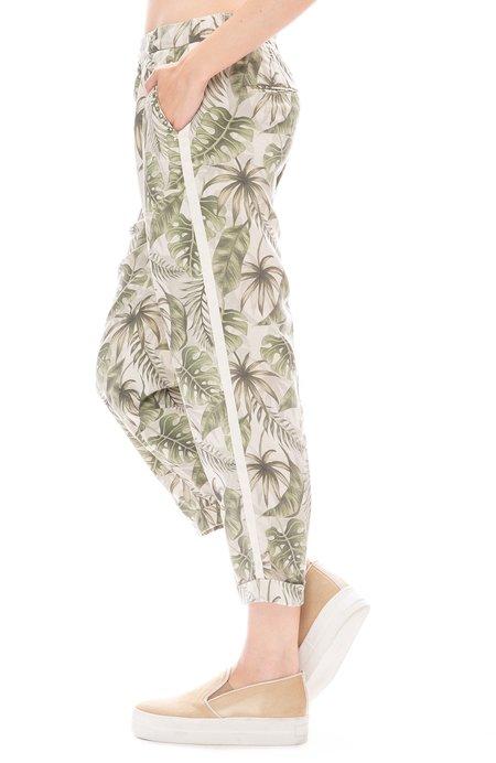 MASONS Linda Pull On Pant - Palm Print