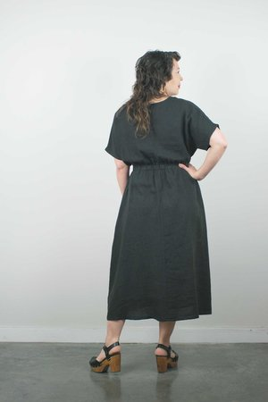 Filosofia Chloe Dress - Ink