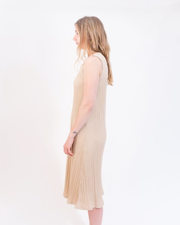 Rita Row Bou Dress - Nude