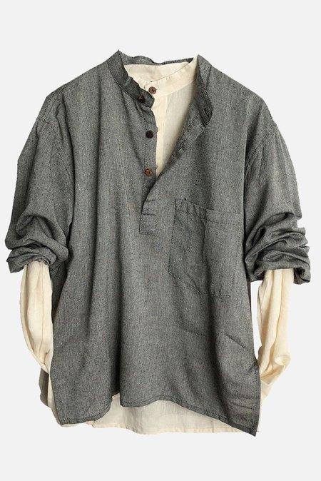 Alter Brooklyn Kurta Shirt - gray