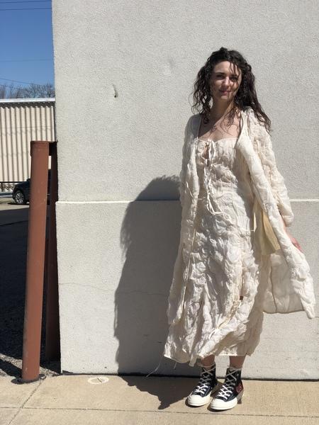 Renli Su Coat/dress - cream
