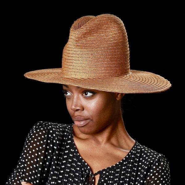 Esenshel Yoko Wide Oval Brim Hat