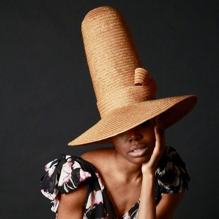 Esenshel TALL DOME CURVED BRIM HAT