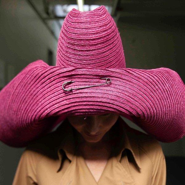 Esenshel JUNNY WIDE ROLLED BRIM HAT