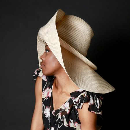 Esenshel SPLIT DOUBLE BRIM HAT