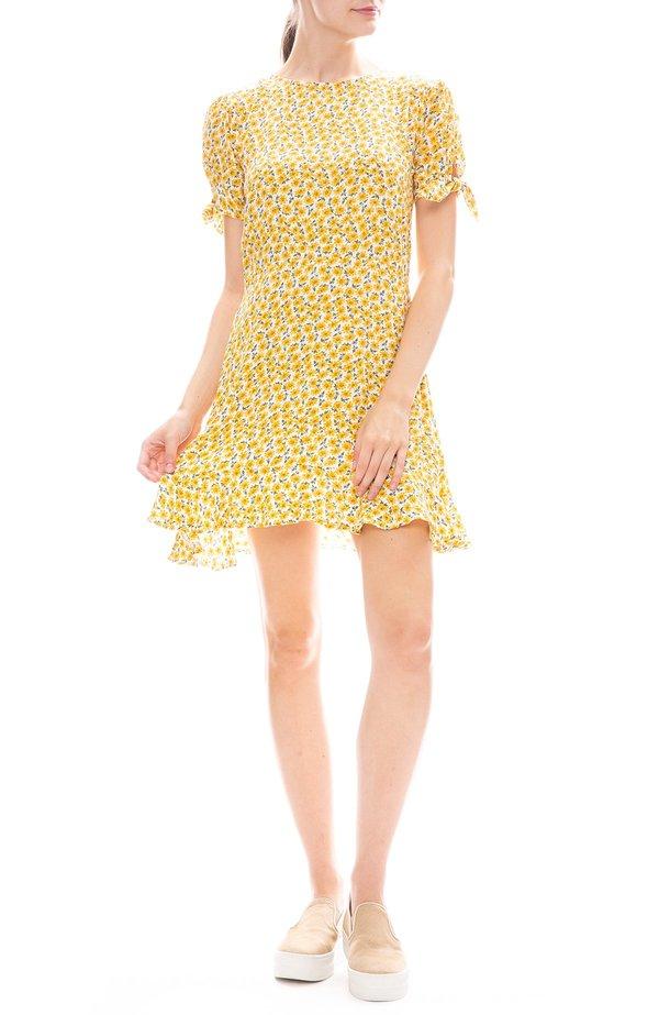 e08613b64f41 Faithfull The Brand Daphne Dress - Marguerite Floral Yellow | Garmentory