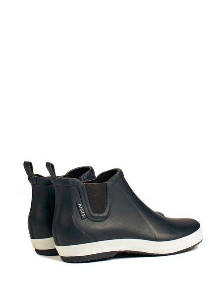 aigle malouine chelsea boot - marine/blanc