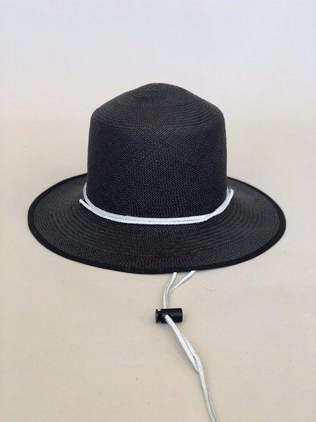 Unisex Brookes Boswell Heather Straw Hat - black
