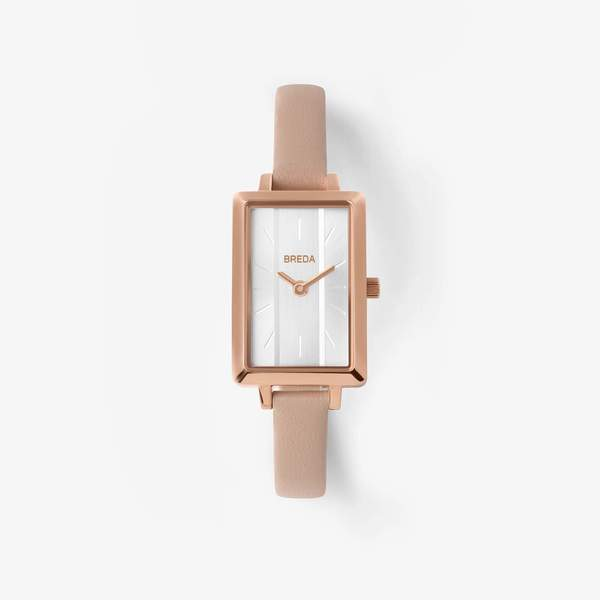 Breda Eva Watch - Rose Gold/Blush