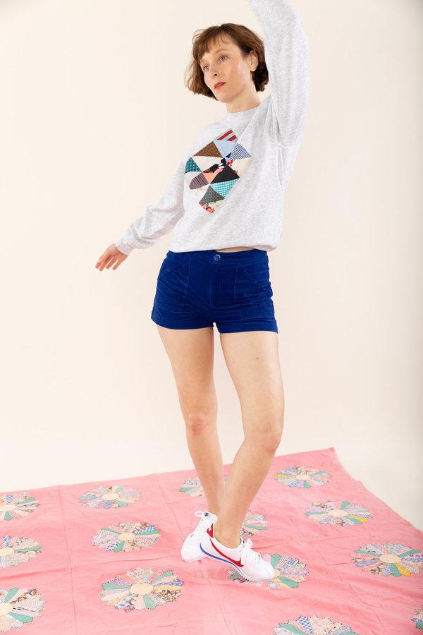 Carleen Triangle Pocket Shorts - Ocean