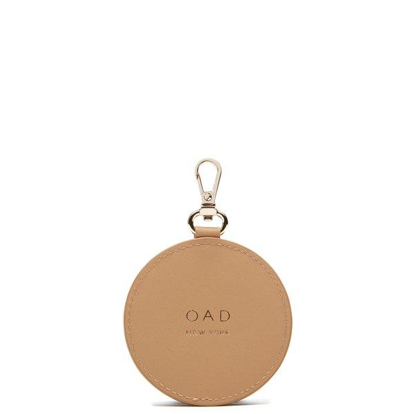 OAD Mirror Keychain - Light Camel