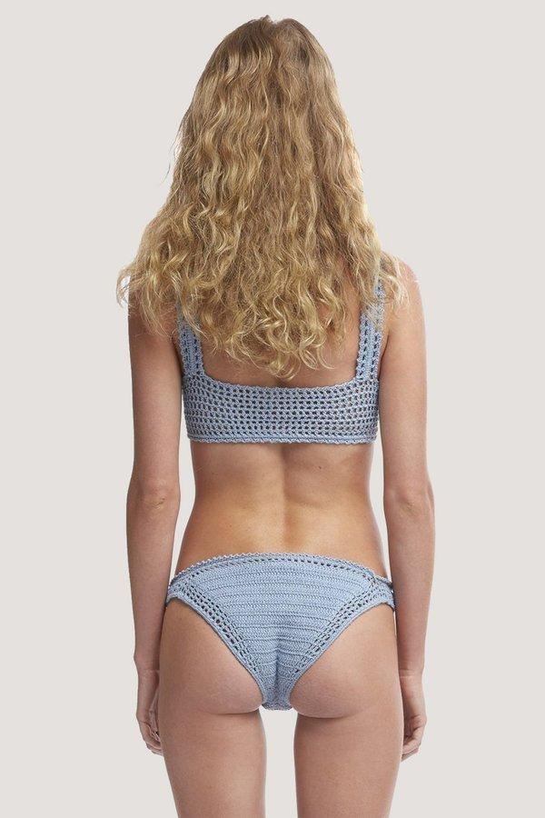 SHE MADE ME Essential Crochet Classic Bottom - Ash