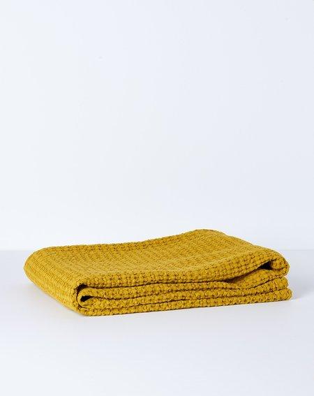 Hawkins New York Simple Waffle Bath Towel - Mustard