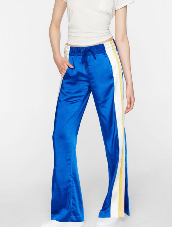 Pam & Gela Triple Stripe Track Pant - Blue